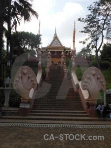 Buddhism pagoda phnom penh step wat.