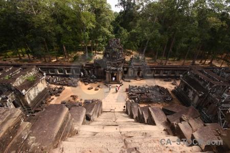 Buddhism ruin stone cambodia unesco.