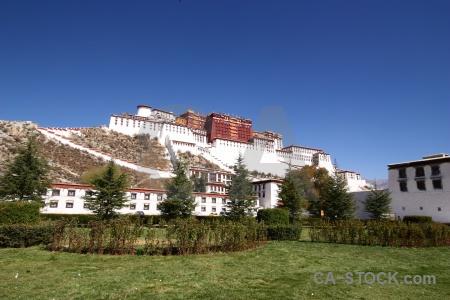 Buddhism sky unesco tibet grass.