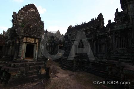 Buddhism southeast asia banteay samre temple sky stone.