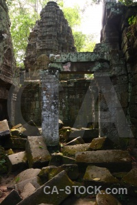 Buddhism southeast asia column ta prohm pillar.