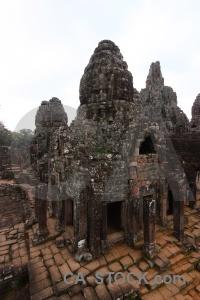 Buddhism unesco temple angkor thom block.