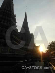 Buddhism wat phra chettuphon wimon mangkhlaram ratchaworama sun asia ornate.