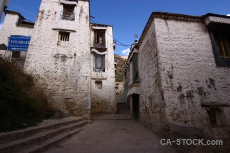 Buddhist asia lhasa gambo utse monastery.