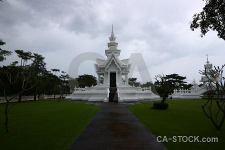 Buddhist chiang rai path buddhism grass.