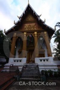 Buddhist column unesco sky asia.
