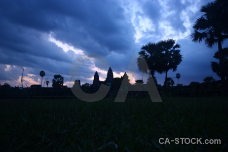 Buddhist khmer sunset southeast asia siem reap.