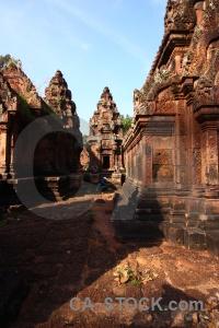 Buddhist person buddhism prasat banteay srei khmer.