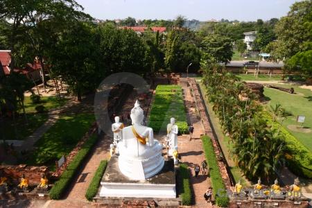 Buddhist temple thailand asia buddha.