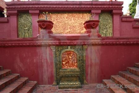 Buddhist temple wat phnom penh cambodia.