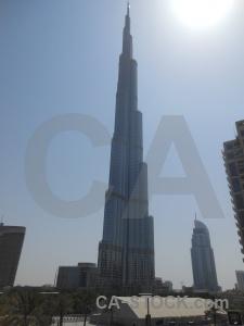 Building asia burj khalifa uae western.