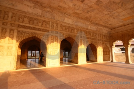 Building asia monument archway mughal.