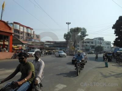 Building asia sky motorbike road.