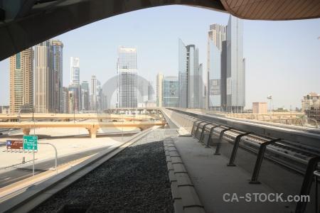 Building asia uae metro dubai.