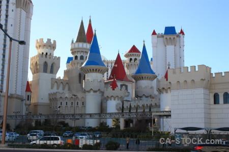 Building castle.