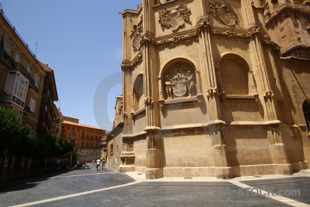 Building cathedral of murcia spain brown iglesia catedral de santa maria.