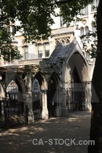 Building church archway.