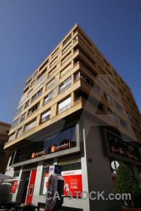 Building corner europe cartagena spain.