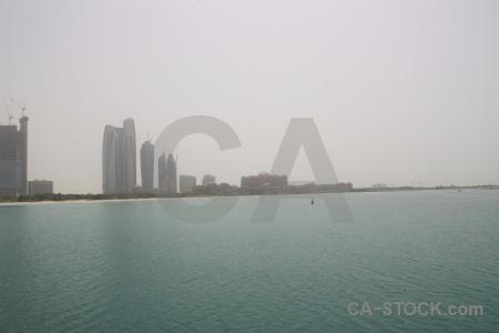 Building emirates palace asia sky abu dhabi.