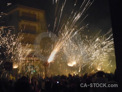 Building fiesta person correfocs javea.