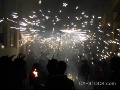 Building firework javea fiesta correfocs.