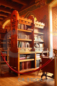 Building furniture bookshelf interior object.
