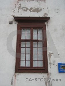 Building gray window.