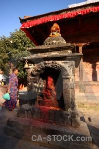 Building hanuman asia buddhism sky.