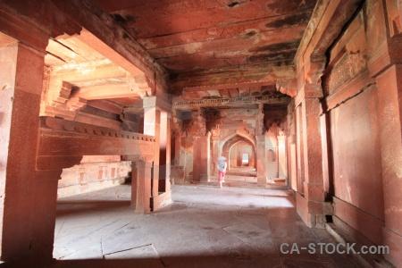 Building india asia fatehpur sikri fort.