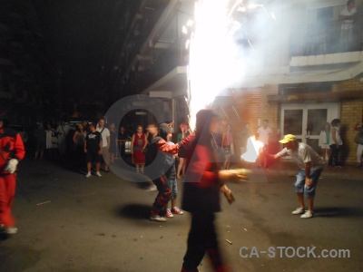 Building javea correfocs firework fiesta.