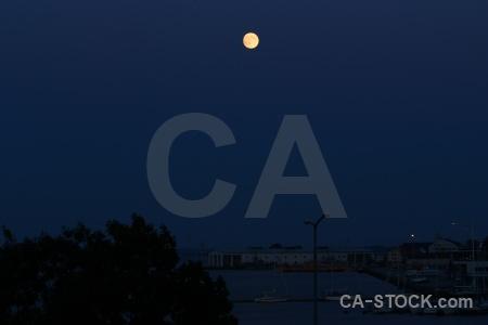 Building karlskrona sky europe moon.