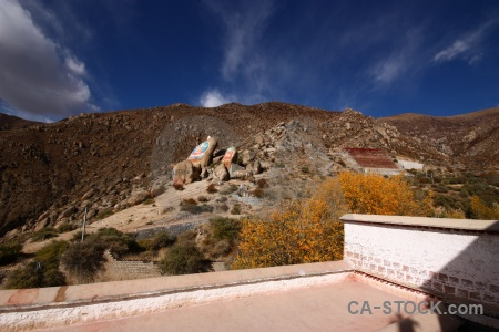 Building lhasa tree sky east asia.