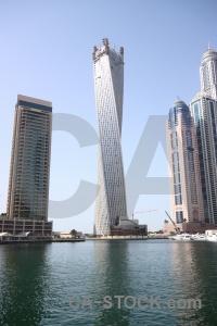 Building marina asia skyscraper dubai.