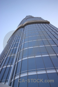 Building middle east burj khalifa asia dubai.
