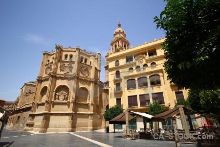 Building murcia europe cathedral of santa maria.