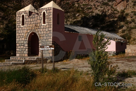 Building santa rosa de tastil south america argentina grass.