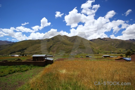 Building sky andean explorer cloud grass.