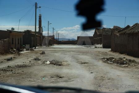 Building sky bolivia south america salar de uyuni.