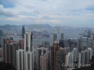Building skyscraper hong kong.