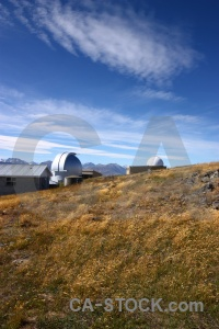 Building south island astronomy grass sky.