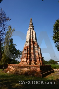 Building southeast asia buddhism thailand ayutthaya.
