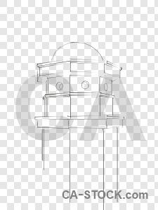 Building transparent sketch.