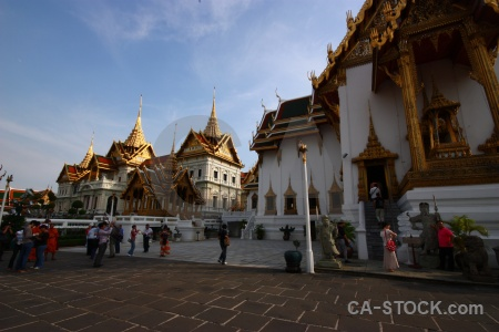 Building tree southeast asia grand palace thailand.