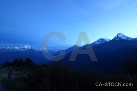 Building tukche peak himalayan annapurna mountain.