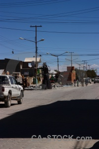 Building uyuni vehicle south america bolivia.