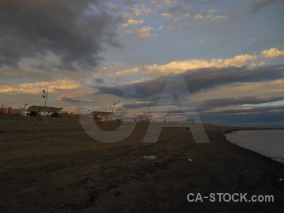 Building water patagonia sea sky.