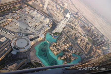 Burj khalifa cityscape dubai uae asia.