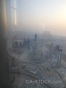 Burj khalifa dubai asia cityscape sunrise.