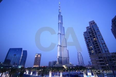 Burj khalifa uae middle east western asia skyscraper.