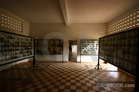 Cambodia prison torture cell tuol sleng.